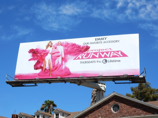 Project Runway season 14 Emmy our favorite accessory billboard