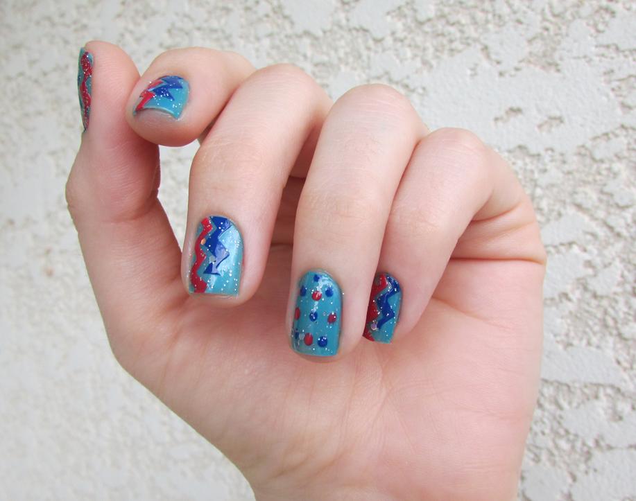 unha, nail art, carnaval