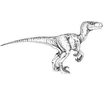 #13 Jurassic Park Coloring Page