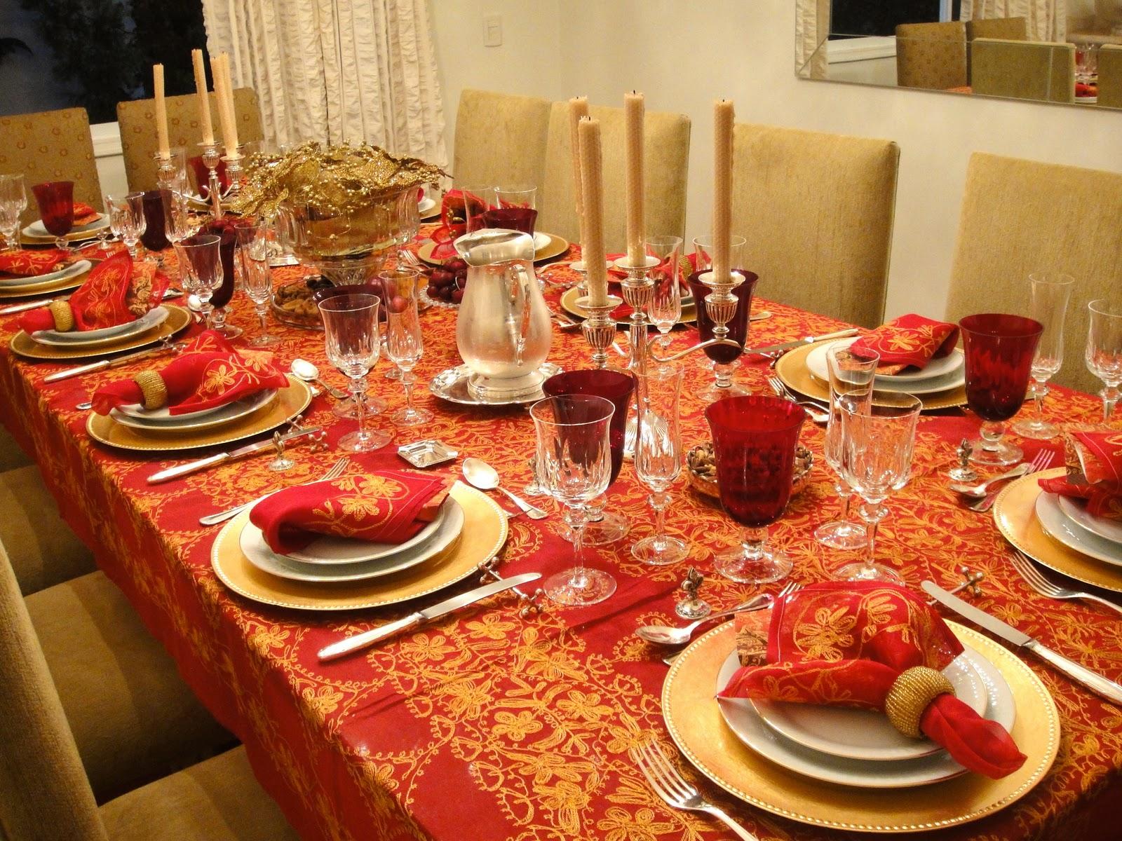 O que as mulheres devem saber decor mesas natalinas - Fotos de mesas decoradas ...