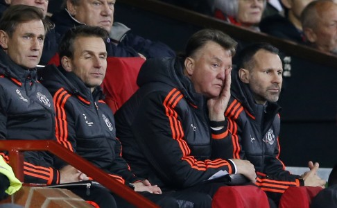 Louis van Gaal has a record of walking away from clubs he has managed. Photo: Reuters