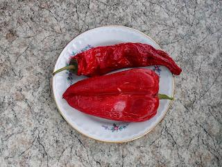 Семенные плоды перцев
