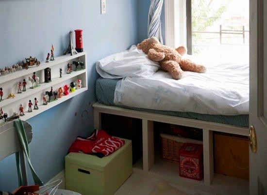 Tu organizas embaixo da cama tem for Storage solutions for small bedrooms kids