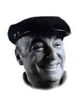 Fotografía de Neruda