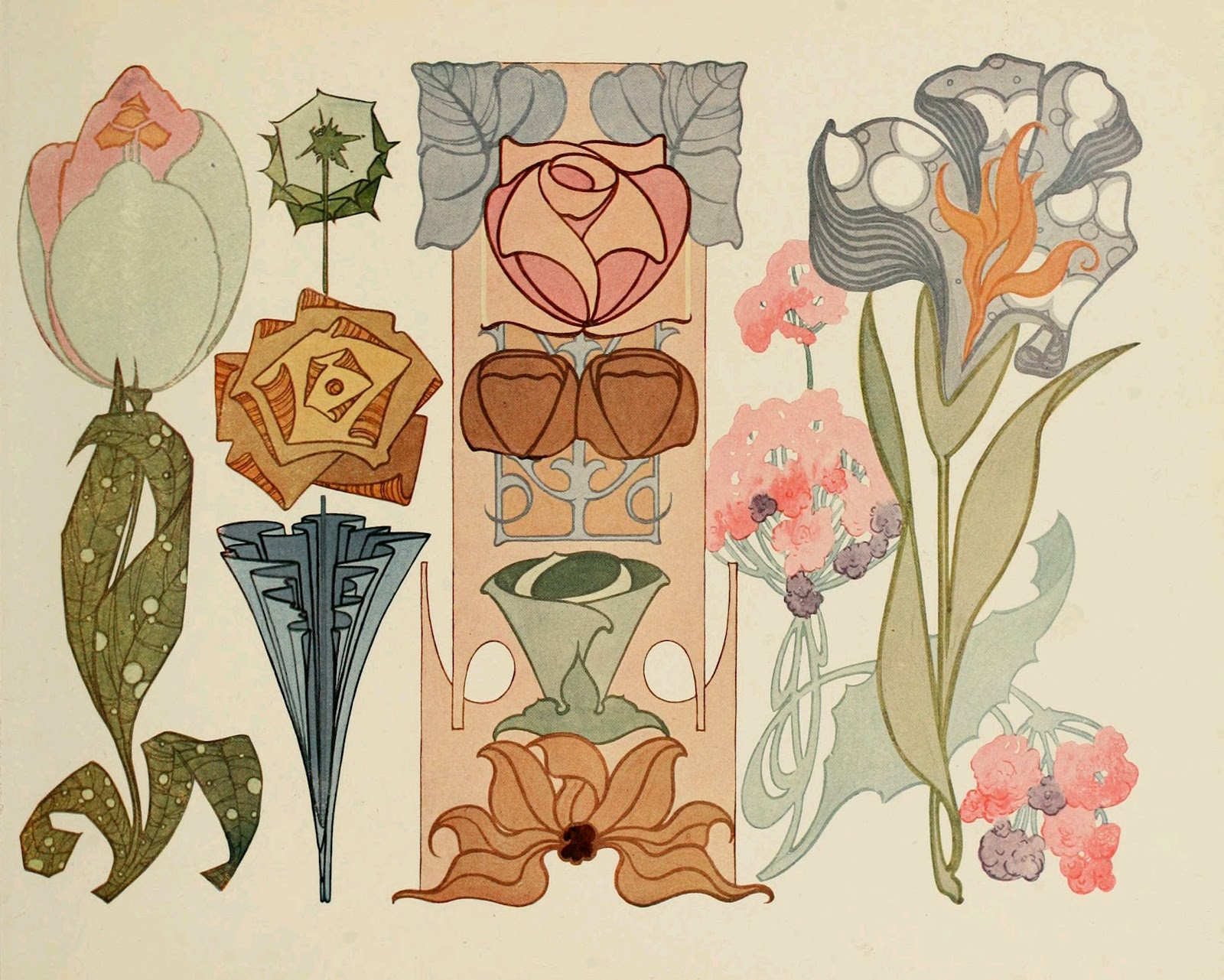 beautiful art nouveau designs