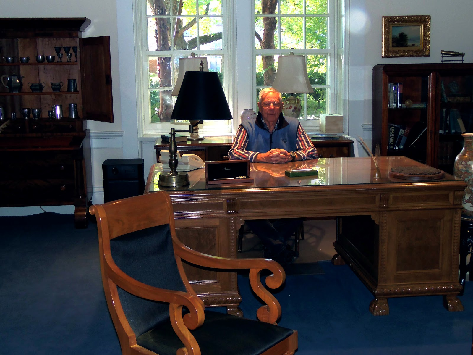 Phil Always Thought He Belonged At The Governors Desk