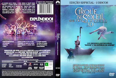 Cirque Du Soleil Outros Mundos (Worlds Away) Torrent - Dual Áudio (2013)