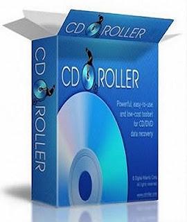 تحميل برنامج CDRoller 9 مجانا لاصلاح الاسطوانات التالفة