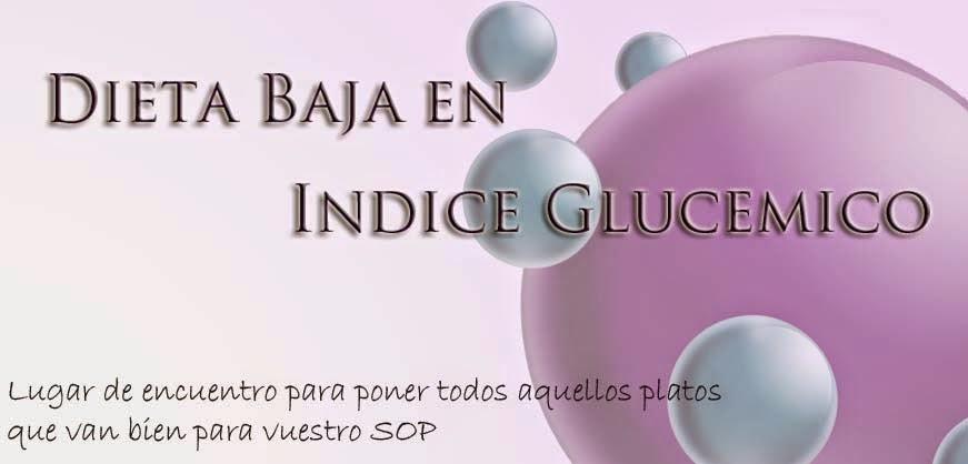 RECETAS BAJAS EN INDICE GLUCEMICO