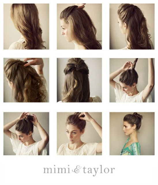 UNDONE BUN HAIR TUTORIAL