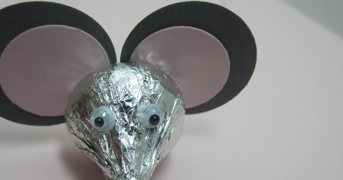 Goin Over The Edge Hersheys Kiss Mice For Valentine Treat