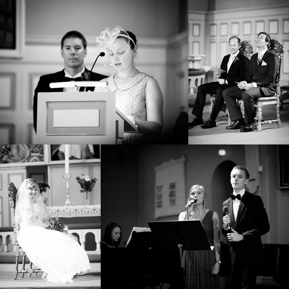 Bryllup i sandefjord kirke - bilder fra vielse i kirken