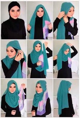 Tutorial Hijab Simple Untuk Sehari-hari