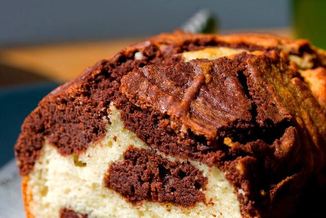 Torta Bicolore - Ricetta Senza Burro
