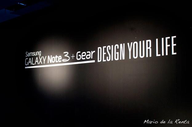 Presentación Galaxy Note 3
