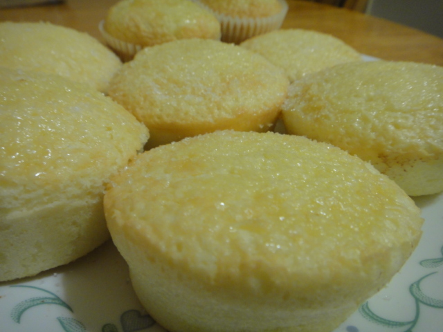 Filipino Mamon (Sponge Cakes) Recipe