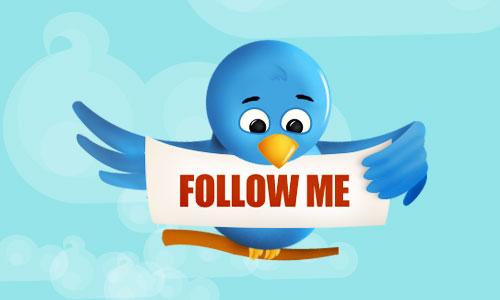 follow me en twitter