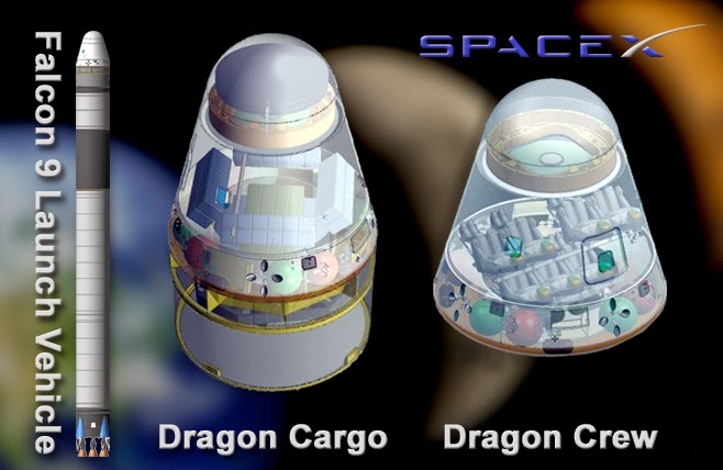 Cápsula Dragon Space X