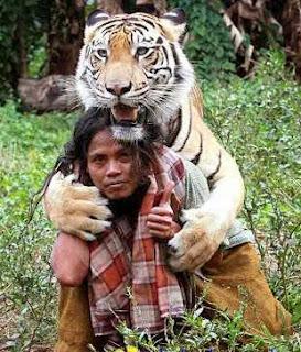 Abdullah Sholeh Sahabat Harimau