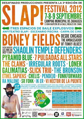 Slap Festival Zaragoza Cartel