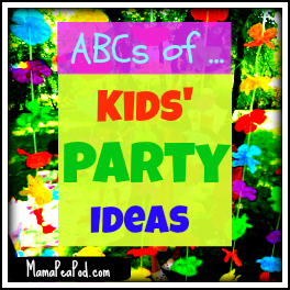 mama pea pod abcs of kids party ideas party themes from p to t