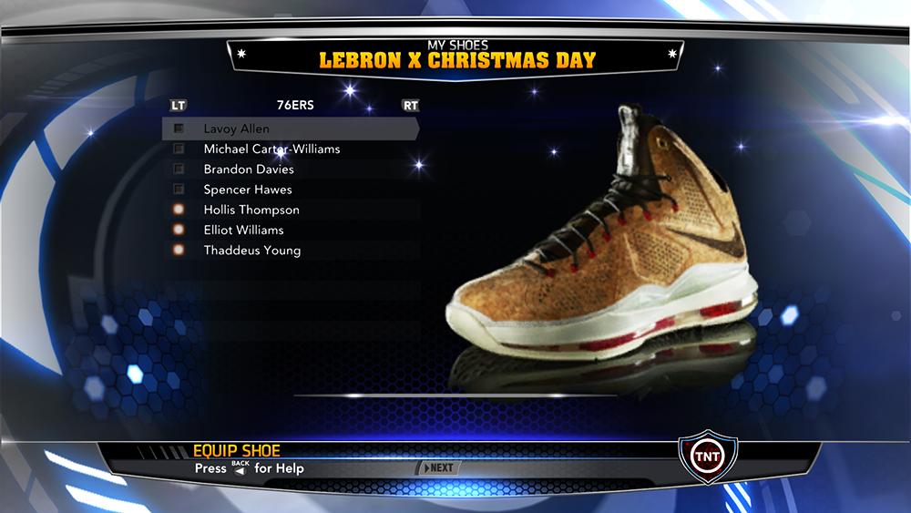 LeBron 10 Cork Brown Sneakers