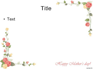 Mother's Day PowerPoint template 003B