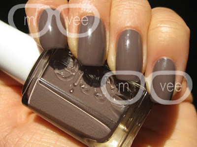 purple taupe nail polish