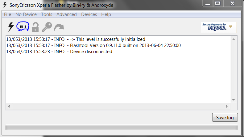 download flashtool for sony xperia tipo