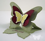 Home of the Original Beautiful Butterflies Easel Card