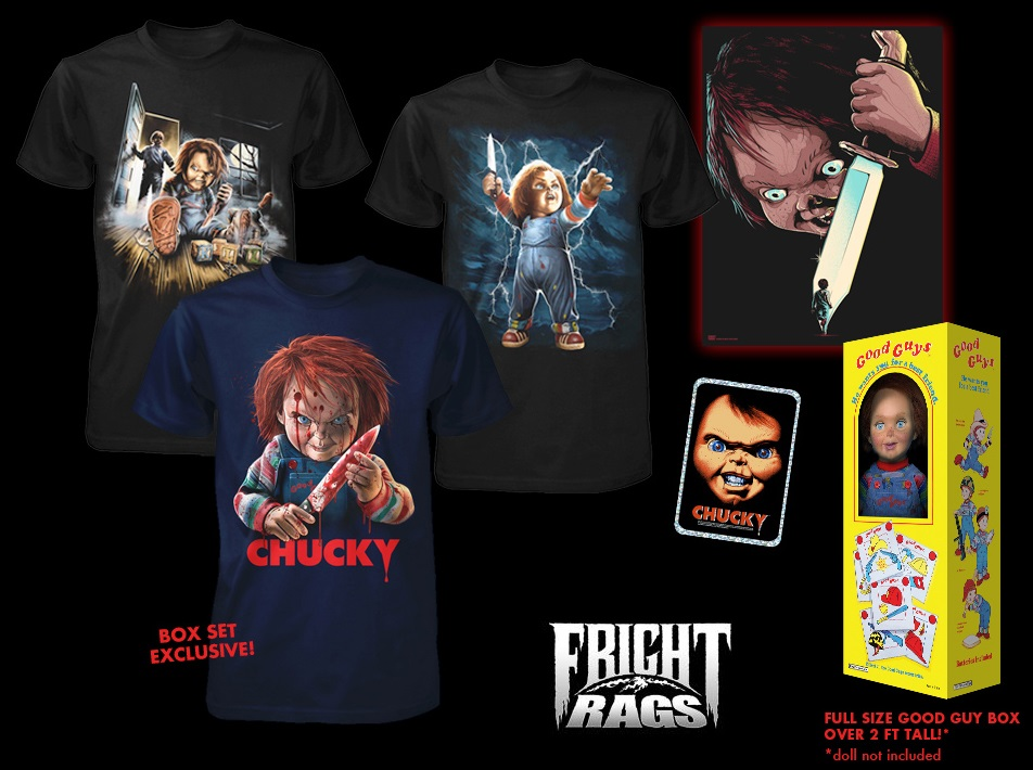 Child's Play Chucky Shirts