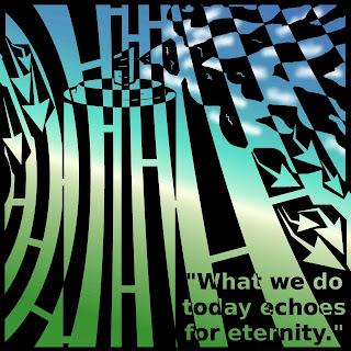Marcus Aurelius maze art quote