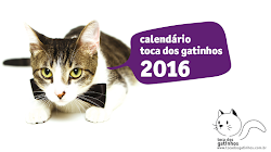 Calendário Toca dos Gatinhos 2015