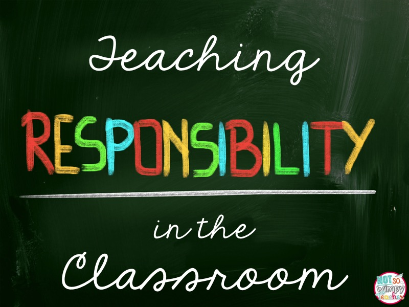 the importance of teaching children responsibility Teaching your children moral values is  while it may seem impossible to explain the importance of  it's your duty to teach morals to children to help .