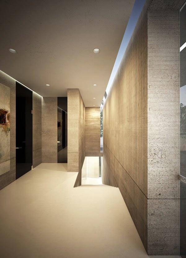 A casa M - projeto de Marcel Luchian para a Expoconferência de Arquitetura GIS 2013, realizada em Bucareste