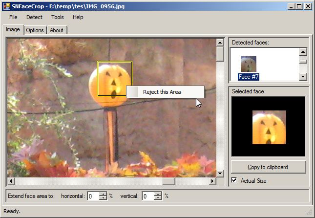 SNFaceCrop screenshot