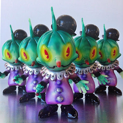 Designer Con 2015 Exclusive Toxic Swirl Stingy Jack Vinyl Figure by Brandt Peters