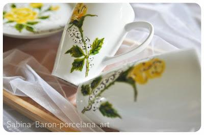 Porcelana na prezent ślubny