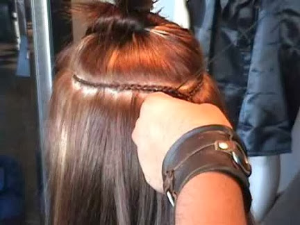 Woven In Hair Extensions 12