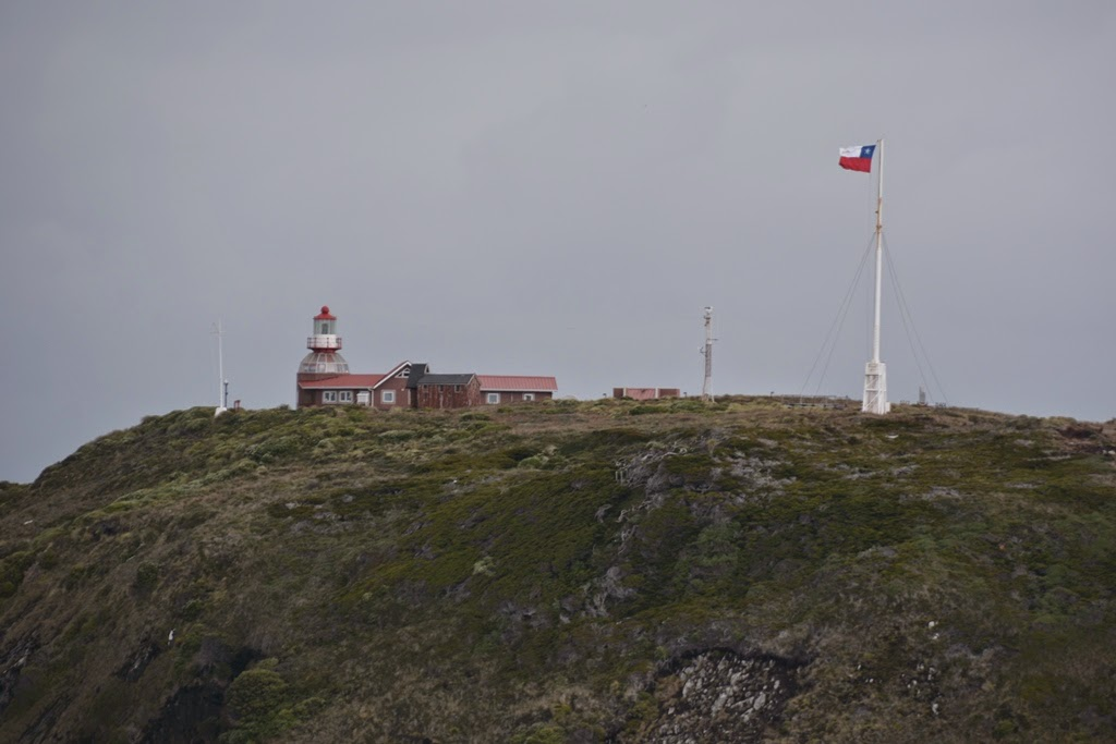 Cruising Cape Horn lighthouse