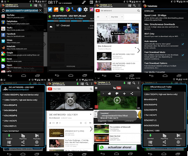 TubeMate Video Downloader for Android