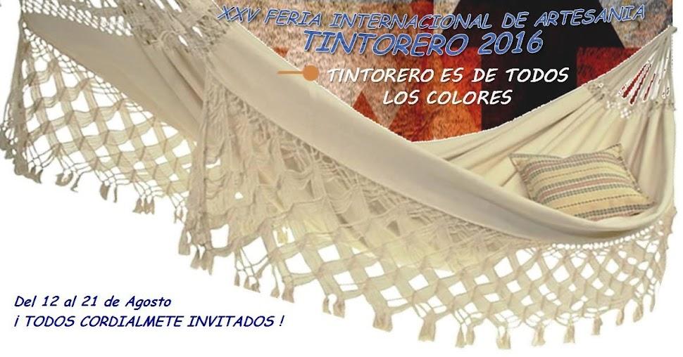 XXV Feria Internacional de Artesanía de Tintorero - edo. Lara