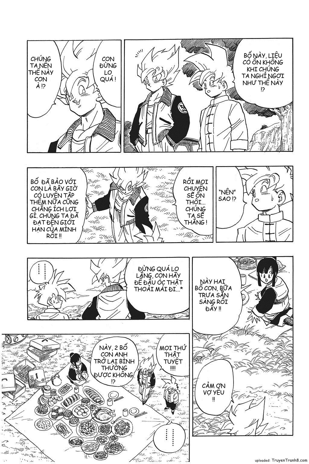 xem truyen moi - Dragon Ball Bản Vip - Bản Đẹp Nguyên Gốc Chap 392