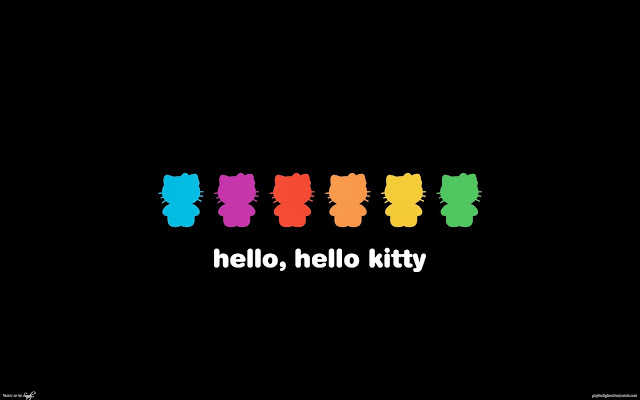 12455-Hello, Hello Kitty HD Wallpaperz