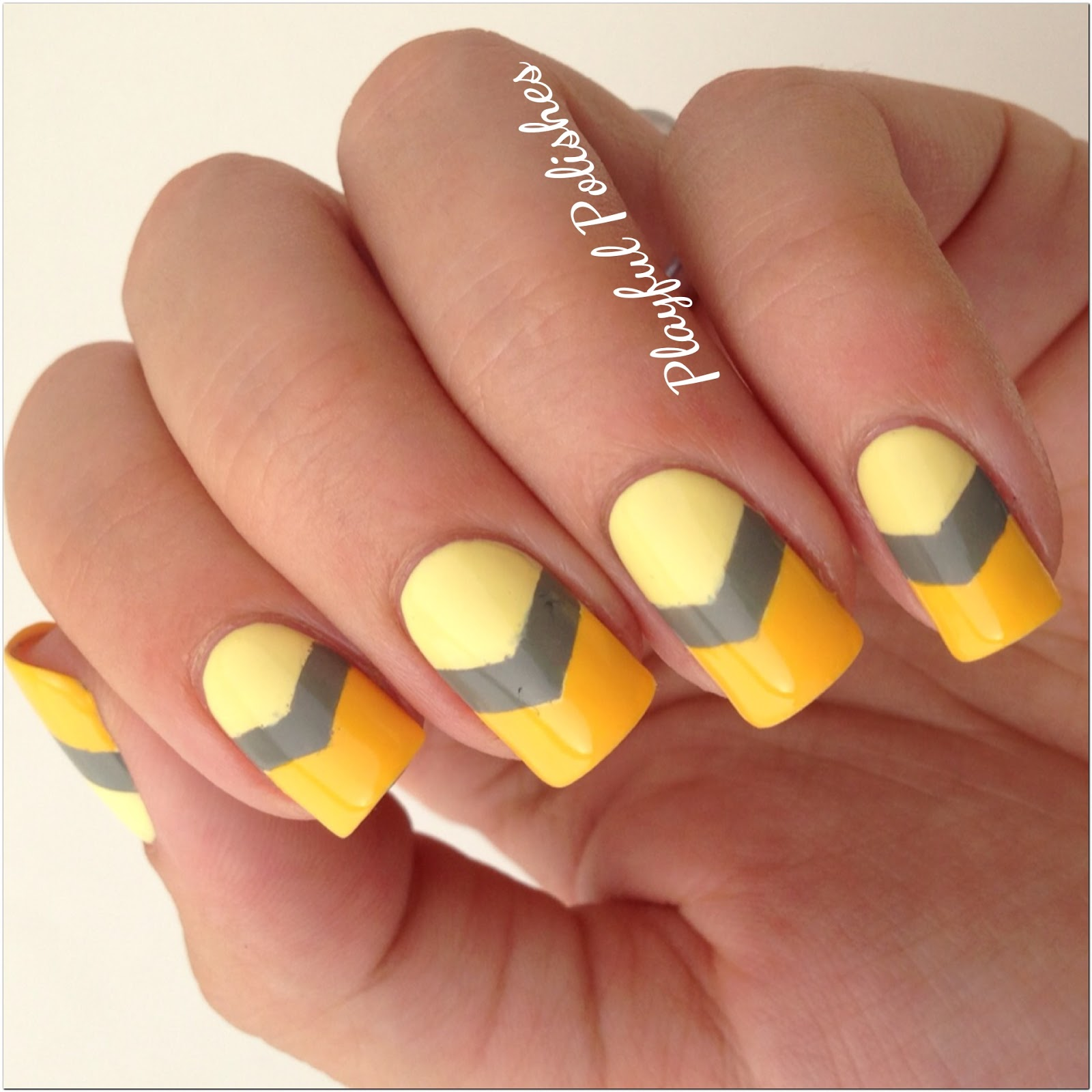 Orange Toe Nail Design | Nails Ideas