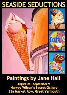 Great Yarmouth artist Jane Hall