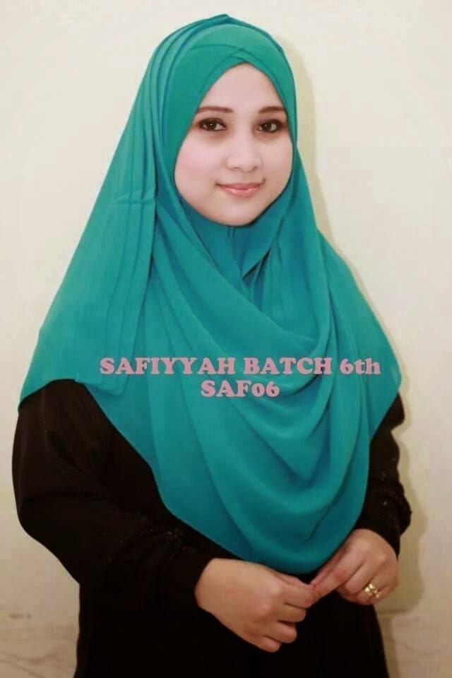 SAFIYYAH INSTANT HIJAB BATCH 6 (JULAI 2014)