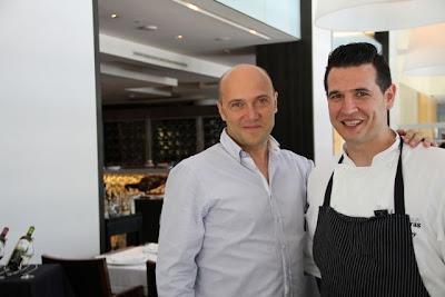 Esteban Capdevila e Iván Sáez chef del Rte. Lágrimas Negras. Blog Esteban capdevila