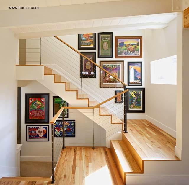 Escaleras Interiores Para Casas. Free Ideas De Diseos De Escaleras ...