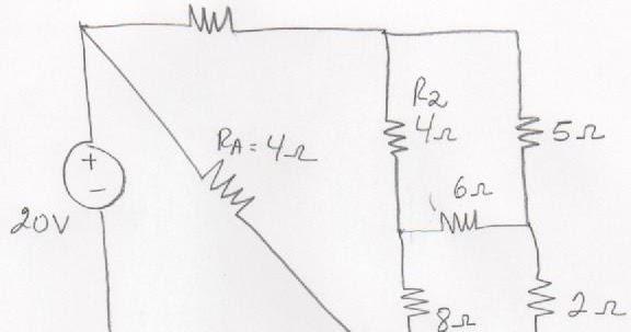 circuitos el u00e9ctricos  conversion delta estrella